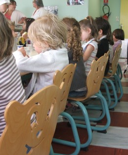 Culi-educatie in Franse schoolrestaurants