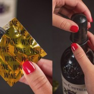Drink veilig, gebruik een wijncondoom!